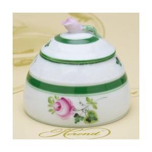 ヘレンドのウィーンの薔薇 蜂蜜壺 ハニーポット 蕾摘み ハンドメイド テーブルウエア ギフト包装無料 Herend|herend-met