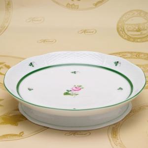 ヘレンドのウィーンの薔薇 洋食器 高台付コンポート ハンドメイド 丸皿 ハンガリー 送料無料 Herend|herend-met
