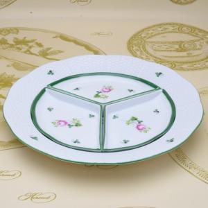 ヘレンド ウィーンの薔薇 送料無料 オードブルディッシュ(4pc) 食器 ハンドメイド ハンドペイント|herend-met