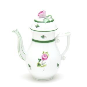 ヘレンド 食器 コーヒーポット(ミニ) ウィーンの薔薇 ハンドメイド 手描き 磁器製 Herend|herend-met
