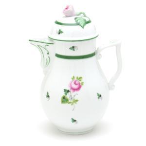 ヘレンド 食器 コーヒーポット(0623) ウィーンの薔薇 ハンドメイド 手描き 磁器製 Herend|herend-met