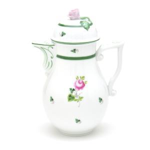 ヘレンド 食器 コーヒーポット(0624) ウィーンの薔薇 ハンドメイド 手描き 磁器製 Herend|herend-met