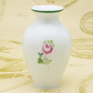 花瓶 ウィーンの薔薇 VASE(7003) ヘレンド ハンドペイント 花生け 送料無料 ギフト包装無料|herend-met