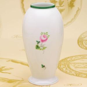 花瓶(7012) ウィーンの薔薇 VASE ヘレンド 花生け ハンドペイント 送料無料 ギフト包装無料 Herend|herend-met