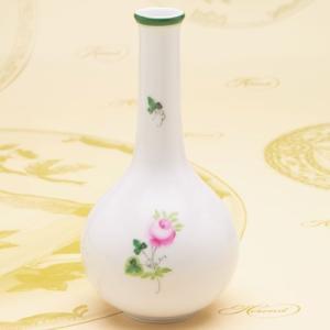 ヘレンド ウィーンの薔薇 一輪挿し 花瓶(7104) ハンドメイド 花器 ギフト包装無料 ハンガリー Herend|herend-met