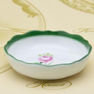 ヘレンド ラウンドミニディッシュ ウィーンの薔薇 ハンドメイド 小皿 飾り物 ギフト包装無料 Herend|herend-met