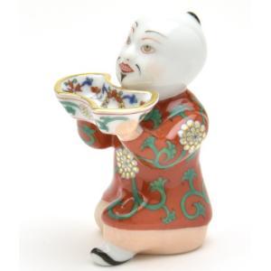 ヘレンド 人形 お給仕マンダリン(S) 西安の赤 ハンドメイド 手描き 磁器製 飾り物 Herend|herend-met