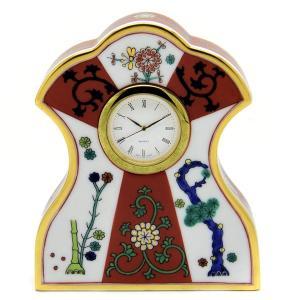 ヘレンド ウォッチスタンド  時計 西安の赤 磁器製 置時計 送料無料 ギフト包装無料 Herend|herend-met