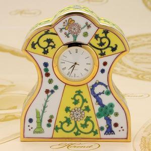 ヘレンド ウォッチスタンド  時計 西安の黄 磁器製 置時計 送料無料 ギフト包装無料 Herend|herend-met