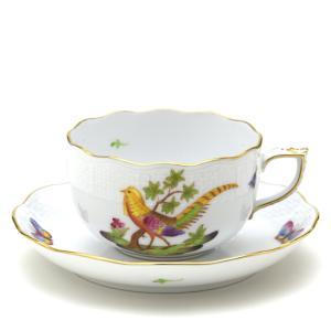ヘレンド(Herend) ティーカップ 食器  キジ/雉(FS-1) 手描き 磁器 紅茶カップ&ソーサー|herend-met