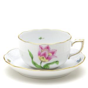ヘレンド(Herend) ティーカップ 食器 グスターヴ(GV-01) 手描き 紅茶カップ&ソーサー|herend-met