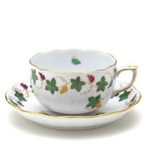 ヘレンド(Herend) ティーカップ 食器 レーズンガーランド 手描き 磁器 紅茶カップ|herend-met