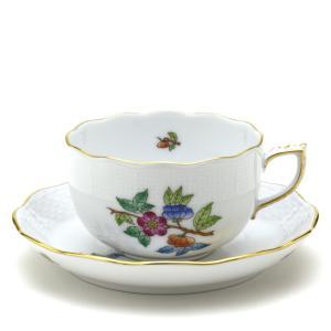 ヘレンド(Herend) ティーカップ 食器 ヴィクトリア/プレーン(3) 手描き 紅茶カップ|herend-met