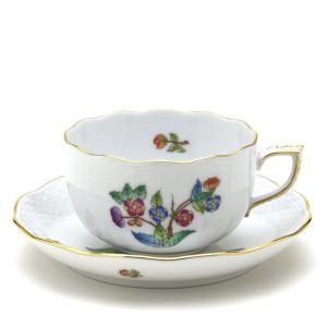 ヘレンド(Herend) ティーカップ 食器 ヴィクトリア/プレーン(6) 手描き 紅茶カップ|herend-met