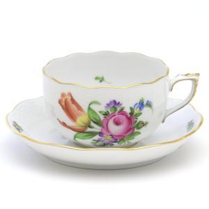 ヘレンド(Herend) ティーカップ 食器  チューリップの花束(BT-2) 手描き 紅茶カップ|herend-met