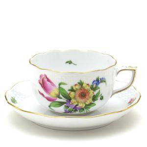 ヘレンド(Herend) ティーカップ 食器  チューリップの花束(BT-3) 手描き 紅茶カップ|herend-met
