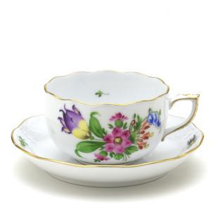 ヘレンド(Herend) ティーカップ 食器  チューリップの花束(BT-4) 手描き 紅茶カップ|herend-met