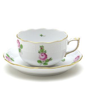 ヘレンド(Herend) ティーカップ 食器 プチローズ 手描き 磁器製 紅茶カップ&ソーサー|herend-met