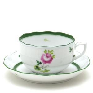 ヘレンド(Herend) ティーカップ 食器 ウィーンの薔薇 磁器製 紅茶カップ&ソーサー|herend-met