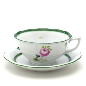 ヘレンド(Herend) ティーカップ 食器 ウィーンの薔薇(00734) 紅茶カップ&ソーサー|herend-met
