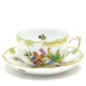 ヘレンド(Herend) ティーカップ 食器  ヴィクトリアブーケ 手描き 磁器製 紅茶カップ|herend-met