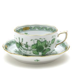 ヘレンド(Herend) ティーカップ 食器 インドの華 手描き 磁器製 紅茶カップ&ソーサー|herend-met