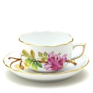 ヘレンド(Herend) ティーカップ 食器 マロン・栗 手描き 磁器製 紅茶カップ&ソーサー|herend-met