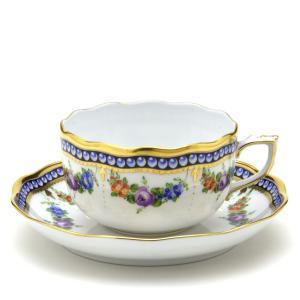 ヘレンド(Herend) ティーカップ 食器 真珠の首飾り マスターペインターのサイン入り|herend-met