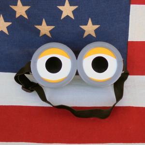 レターパックプラス対応 なりきり ミニオン めがね メガネ ゴーグル アメリカキャラクター コスプレ 小道具 衣装 仮装 面白雑貨 子供 キッズ 男児 女児 おもちゃ