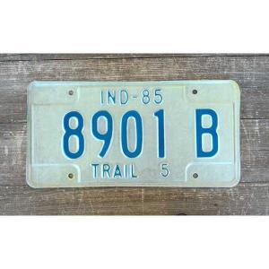 サイズ(約):高さ15.5×横30.5cm   アメリカ合衆国の中西部にあるインディアナ州の車に付い...