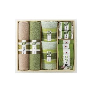 お茶で揃えたセットは、どなたに贈っても喜ばれます。多くの日本人が愛飲し健康面からも注目されている緑茶...