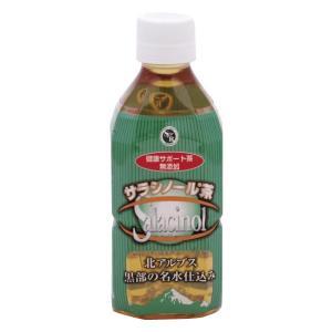ジャパンヘルス サラシノール健康サポート茶 350ml×24本 <メーカー直送又はお取り寄せにつきキャンセル・返品・変更不可>|hermo