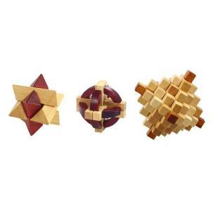 大人の木製パズル 3点 145-223 <メーカー直送又はお...