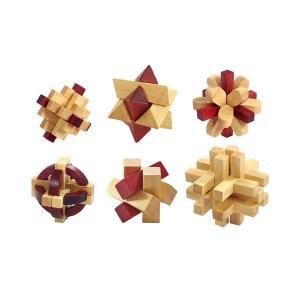 大人の木製パズル 6点 145-226 <メーカー直送又はお...