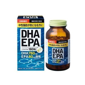 オリヒロ 機能性表示食品 DHA&EPA ソフトカプセル 180粒(1粒511mg/内容液357mg) 60208210  <キャンセル・返品・変更不可>|hermo