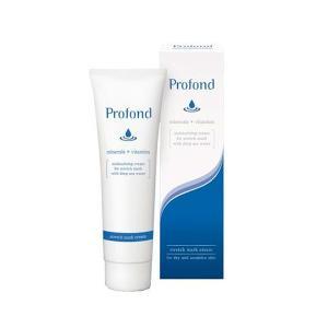profond(プロフォン) ストレッチマーククリーム 乾燥肌・敏感肌用 高保湿クリーム(全身用) 100g   キャンセル返品不可|hermo