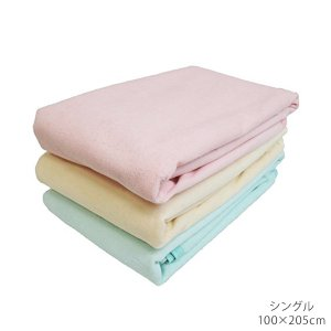 表面ふんわり、寝心地バツグン。引っかけるだけの取り付けで簡単です。もちろん丸洗いOK!!シングルサイ...