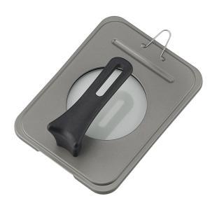 リーンズ スタンド式ハンドル軽量玉子焼カバー 12×14・12×17・13×18cm LR-8092 キャンセル返品不可の商品画像 ナビ