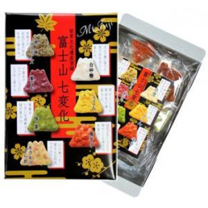 埼玉の名産 草加せんべい 富士山七変化30枚入×6箱セット <メーカー直送又はお取り寄せにつきキャンセル・返品・変更不可> hermo