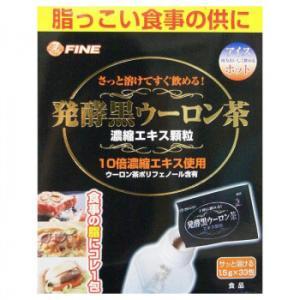 ファイン 203423 発酵黒ウーロン茶エキス顆粒 49.5g(1.5g×33包)   キャンセル返品不可|hermo