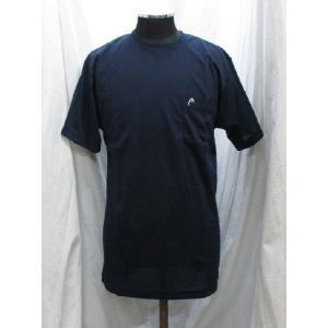 ヘッド Tシャツ ポケット付き 紺 1810280 head