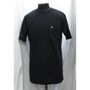 ヘッド Tシャツ ポケット付き 黒 1810280 head