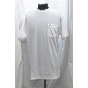 ヘッド Tシャツ ポケット付き 白 1810280 head