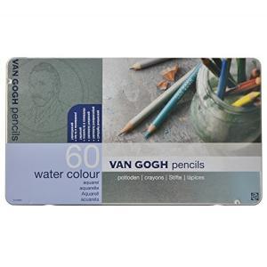 ヴァンゴッホ 水彩色鉛筆 60色 T9774-0065|heros-shop