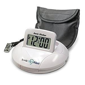 携帯型振動式目覚まし時計 ソニックシェーカー
