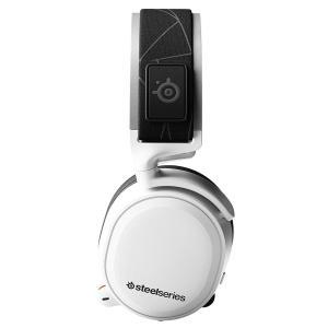 国内正規品密閉型 ゲーミングヘッドセット SteelSeries Arctis 7 White (2...