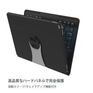 iPad Pro 12.9 キーボードケース Procase iPad Pro タブレット ワイヤレ...