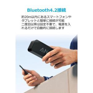 Anker SoundCore (ポータブル Bluetooth4.2 スピーカー )デュアルドライ...