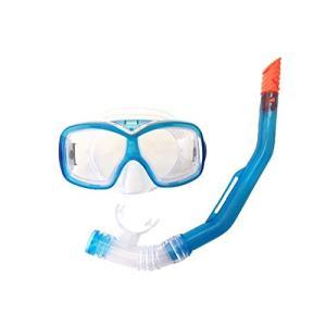 YASUDA(ヤスダ) こども用マスク・スノーケルセット 排水弁付 ブルー YD-543