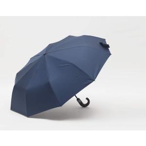 PARACHASE 折りたたみ傘 自動開閉 J型 木製手元 日傘 メンズ 傘 晴雨兼用 折り畳み傘 ...